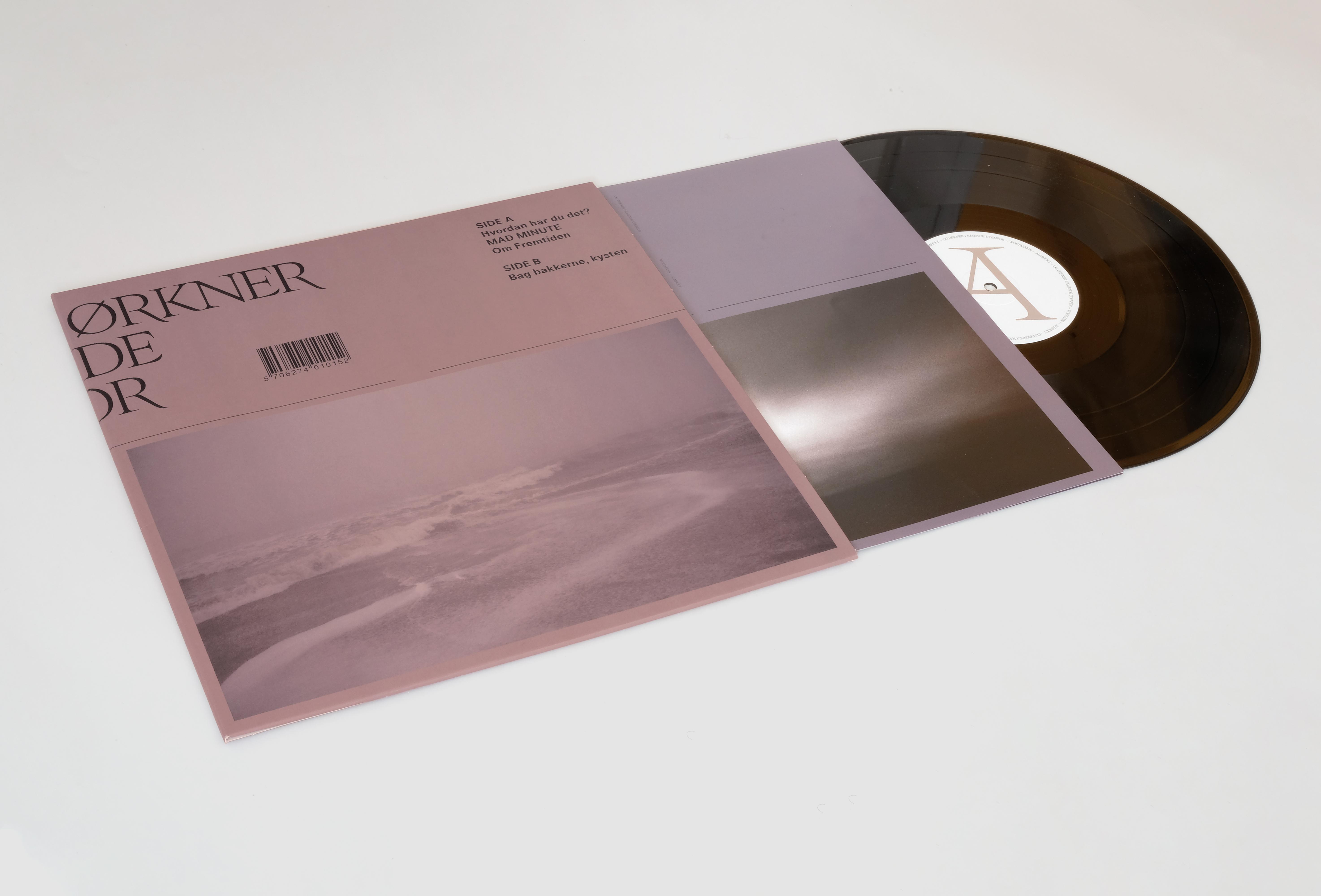 Album cover insert plade