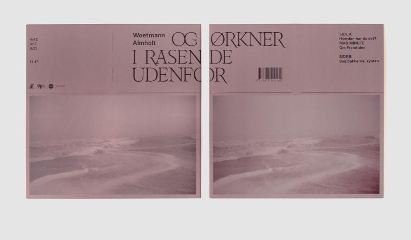 Album forside og bagside